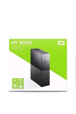 ✅✅BRAND NEW✅✅ WESTERN DIGITAL WD My BOOK 4TB Mac/PC USB 3.0 EXTERNAL HARD DISK