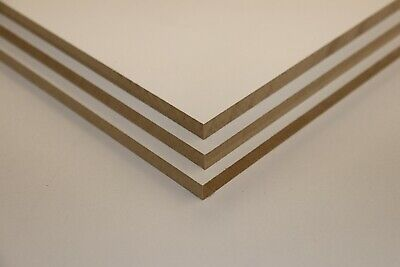 7mm White Melamine MDF Sheets - MDF Shelf - MDF Panel