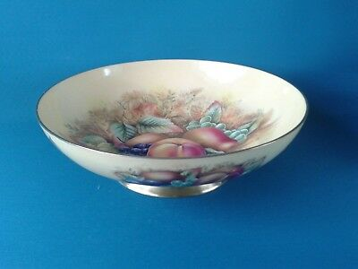 Aynsley Orchard Gold Footed Fruit Bowl