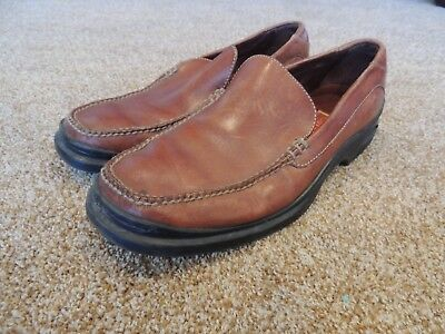 Cole Haan Light Brown Leather Loafer 7284 Mens Size 10.5M Slip On