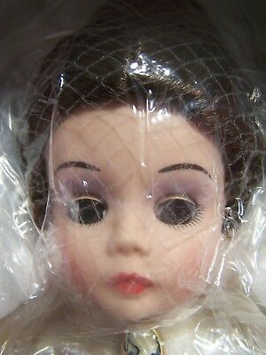Madame Alexander Porcelain Coca-Cola Victorian Girl Doll-Danbury Mint-New In Box
