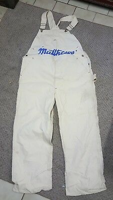 Men's VINTAGE Cones Boss Painting WORK Overalls Sz 42x30? LAST ONE I HAVE!!!RARE