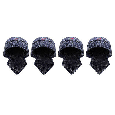 4X Welder Protective Flame Retardant Hood Hat Cap Scarf Welding Safety Cover