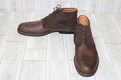 481581d15ab ECCO FINDLAY LEATHER Chukka Boots, Men's Size 13-13.5, Brown ...