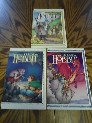 1990 Graphic Novel Eclipse Comic Books J.R.R. TOLKIEN THE HOBBIT Book 1, 2, 3