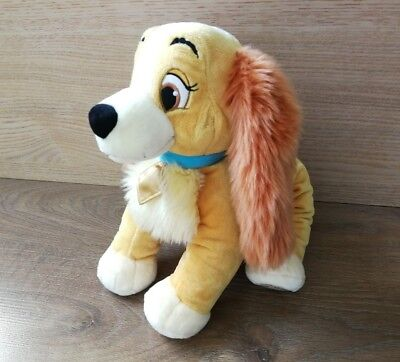 "Disney Store Lady from Lady and the Tramp 12"" Soft Toy Plush"