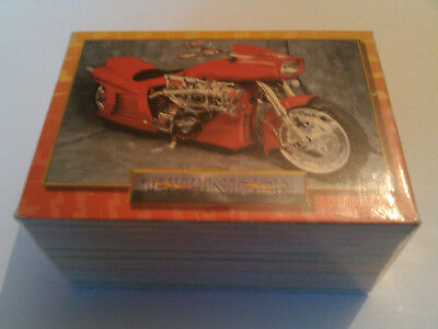 Vintage Thunder Custom Motorcycle 100 Card Collector Set Thunder Productions 93