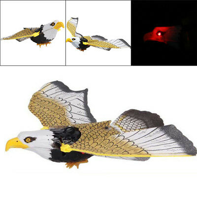 Realistic Sounding Electronic Flying Eagle Sling Led Hovering Hawk Birds Fun Toy