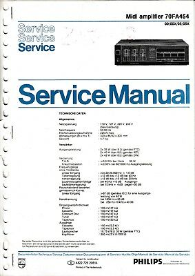 Philips Original Service Manual Für 70 Fa 569 Online Shop Tv, Video & Audio