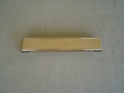 """M. Hohner """"the Goliath"""" Tremelo Harmonica In The Key Of """"c"""""""