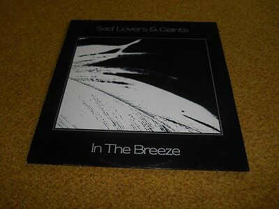 Sad Lovers and Giants Vinyl In The Breeze U K First Press