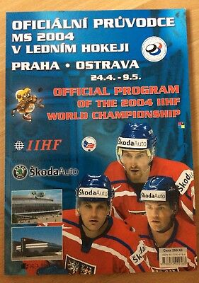 Ice hockey World championship  2004 official programme
