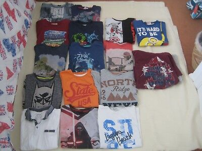 Bundle of Boy's Clothing x 16 Items - Age 9-10 & 10-11 Years - Next, Fat Face