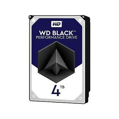WD Black 4TB Performance Desktop Hard Drive - 7200 RPM 256MB Cache WD4005FZBX