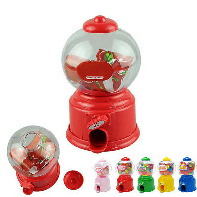 Classic Vintage Double Bubble Gum Machine Bank Candy Dispenser Gumball Toy Hot