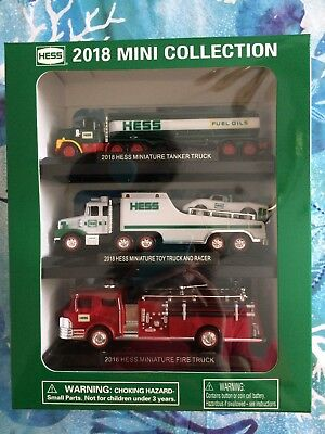 Brand New Hess  2018 Mini Collection In Unopened Packaging