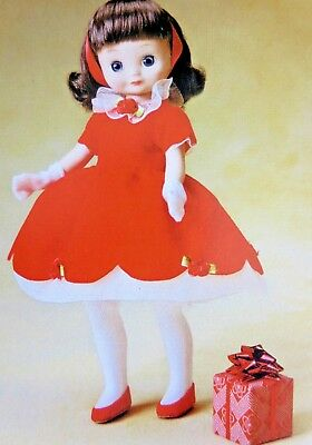 "8 in Tiny Betsy McCall ""HAS A HAPPY HOLIDAY"" TONNER doll - NRFB Precious  ~SALE!"