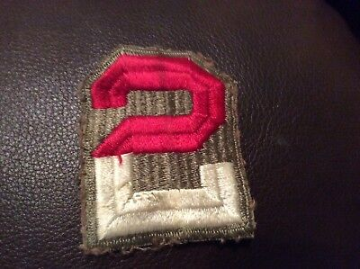 Vintage US WWII KOREA Military PATCH WORN WW2 original