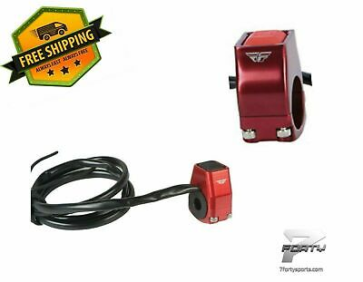 BLACK FLY Racing Billet Ignition Push Button Motorcycle Kill Switch 57-5019