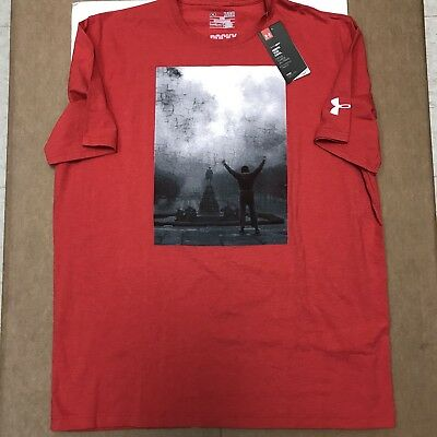 Under Armour Rocky Movie Boxing X Large T Shirt Mens Philadelphia Eagles