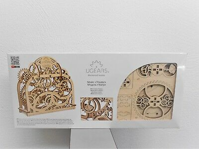 Ugears Theater Mechanical Wooden Model Kit 3d Puzzle Assembly Self