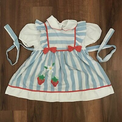 Vintage Strawberry Dress