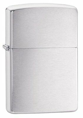 Zippo Brushed Brushed Chrome Lighter 200