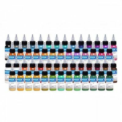 INTENZE Professional Colour Tattoo Ink 1oz 30ml VEGAN 27+ Shades