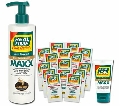 Real Time Pain Relief MAXX, Convenience Pack
