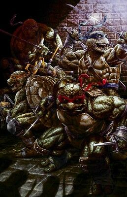 TMNT #84 SDCC Bermejo Virgin Exclusive Only 50 Released Online PREORDER Not #1