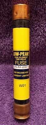 Cooper Bussmann LPS-RK-20SP 600VAC/300VDC Low Peak Dual Element Time Delay Fuse