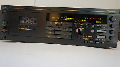 Nakamichi CR-7A 3head cassette deck Dolby B.C,auto tape calibration, manual
