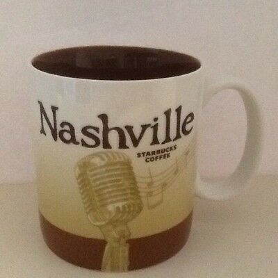 Starbucks 2010 Nashville Collector  Mug Cup