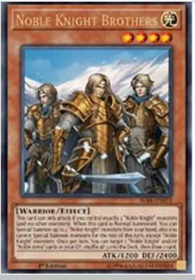 3x Noble Knight Brothers - BLRR EN?? - Ultra- PRE ORDER - Free Shipping