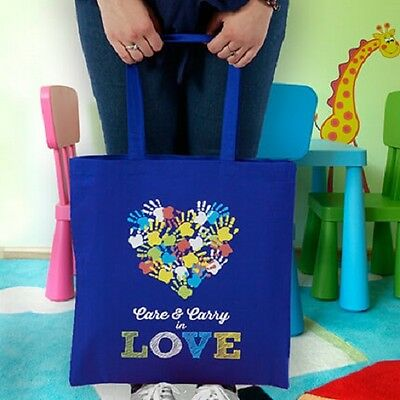14.5 x 16 x 1 Custom Tote Bag Printed with your logo 6oz Cotton Canvas 2 straps