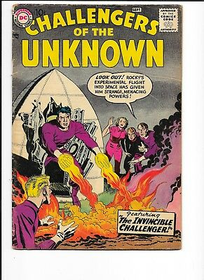 Challengers Of The Unknown 3, Good-Very Good, Jack Kirby Art