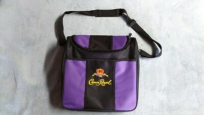 Crown Royal Whiskey Insulated Soft Sided Cooler Lunch Tote Bag with Strap