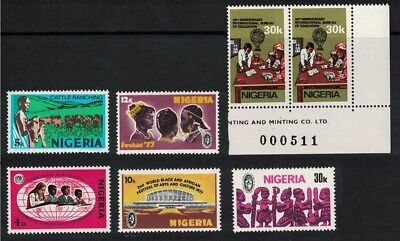 [L10] Nigeria Good colection of MNH