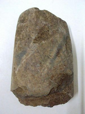 Ancient Stone Axe Neolithic FlintStone Age Artifact Tool Primitive Prehistoric