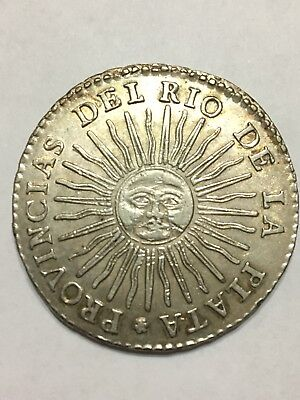 1836 8 Reales Argentina BEAUTIFUL Condition Must See!!!!