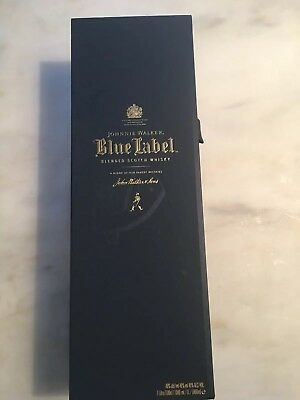 Johnnie Walker Blue Label Empty Box Only. Nice Condition.
