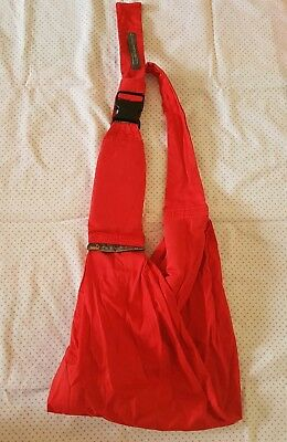 Mini Monkey 4 In One Classic Sling Carrier - red