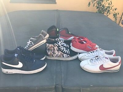 Lot of 6 Casual Shoes (Nike, Vans, Etc.)