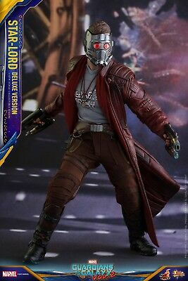 Hot Toys - Star Lord Deluxe Version - Guardians of the Galaxy 2 - scale Sideshow