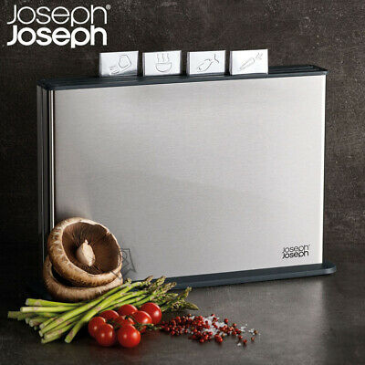 NEW Joseph Joseph 100 Collection - Index Steel Cutting Chopping Boards BPA-free