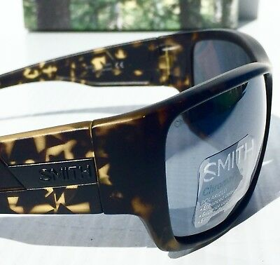 61ff77cc132 NEW  SMITH PROSPECT Matte Camo Black POLARIZED ChromaPop Platinum Grey  Sunglass