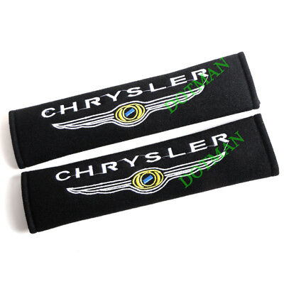 2X Seat belt Cover Cushion For Chrysler Grand Voyager 300C Crossfire PT Gift