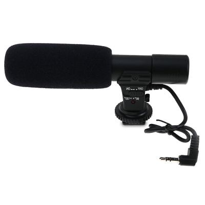 Professional Directional Condenser Microphone for DSLR / SLR Camera DV Camcorder