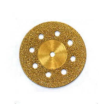 100pcs dental lab sintered diamond disc material supplies for plaster cutting