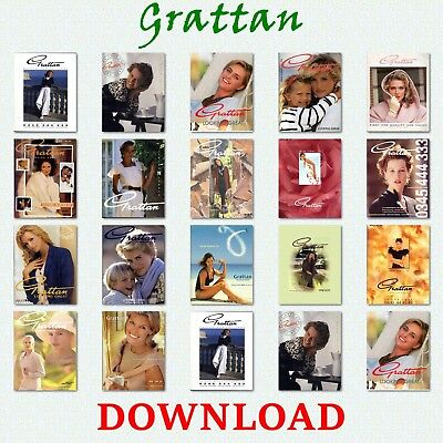 1990s GRATTAN MAIL-ORDER CATALOGUE DVD FASHION HOME  ANTIQUE COLLECTIBLE